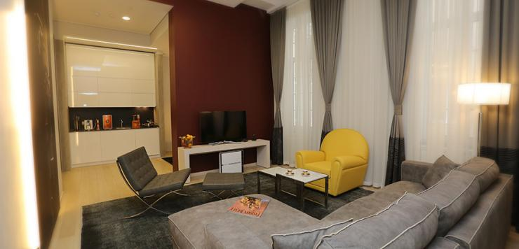 Royal apartment 73m2 (2 bedrooms, 1 living room, a fully equipped kitchen and 1 guest toilet)